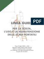 Linee Guida Scale Portatili ISPESL