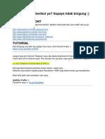 Tutorial _ Daftar Font