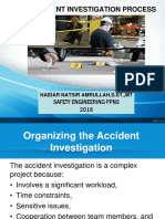 The Accident Investigation Process