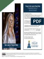 Prayer Card Large