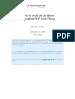 Gérer le cycle de vie d'une application PHP avec Phing