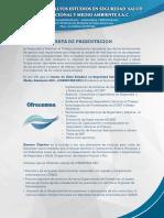 Carta de Presentacion de CAESSOMA SAC