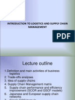 INTRODUCTION TO LOGISTIC MANAGEMENT
