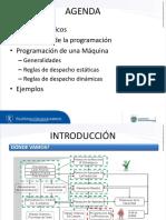 Introducción a la programación de producción