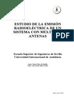 Emisión Radioeléctrica Múltiples Antenas