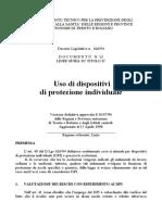Linea Guida Uso Dei DPI