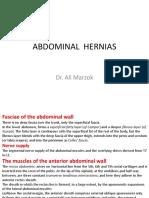 30. Abdominal Hernias