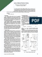 Study on Elliptical Vibration Cutting