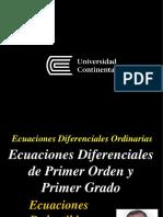 5. EDO - Ecuaciones Reductibles a Homogéneas