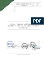 Sesión de Introduccion - Guía de Productos Observables