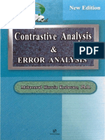Contrastive Analysis Error Analysis