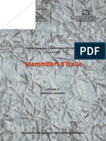 Mammiferi Di Italia