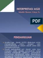 PPT INTERPRETASI AGD