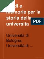 StudieMemorieperlaStoriadellUniversitadiBologna1907I1