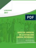 IE Estabilidad Laboral Reforzada