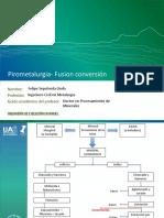Pirometalurgia - Fusion Conversion