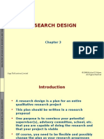 Chapter 3 - Research Design