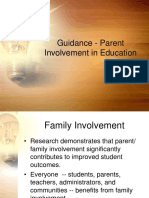 Guidance - Parental Involvement