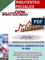Contribuyentes Especiales y Programa de Revision 06-03-2015
