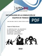 Metodologias de Conducción de Equipos  de Trabajo