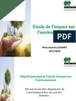 Etude de l'Impact Sur l'Environnement Version Afin La Finale
