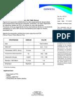 Quimicell Nc-7600 Español