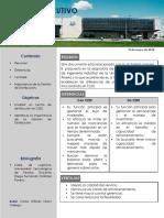 Informe Ejecutivo CEDI