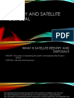 Reentry and Satellite Disposal
