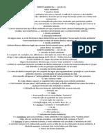 Direito Ambiental - 10º Semestre (Aulas - p1)