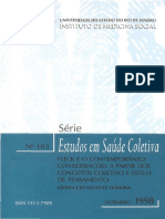 Teixeira (1998) - Fleck e o Contemporânea - Considerações a Partir Dos Conceitos Coletivos e Estilo de Pensamento