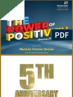 Positivity - Anniversary