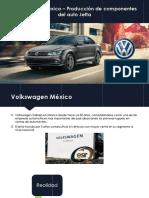 Volkswagen México Producción de Componentes Del Auto