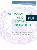 Reviewer - Agrarian Law and Social Legislation-1