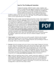 12 Steps for Close Reading and Annotation