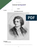 Analisis Obra Fausto Goethe