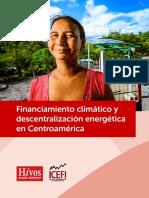 Financiamiento Climatico y Descentralizacion Energetica en Centroamerica