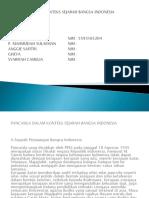 Pancasila Dalam Konteks Sejarah Bangsa Indonesia Ppt
