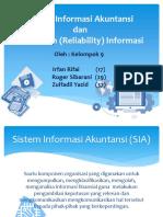 Sistem Informasi Akuntansi dan Keandalan Informasi