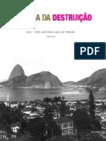 Memória Da Destruição_Rio de Janeiro