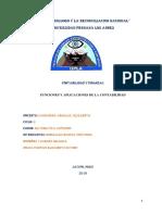 Funciones y Aplicaciones de La Contabilidad