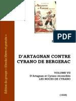 Feval-fils Cyrano d Artagnan 7 Les Noces de Cyrano