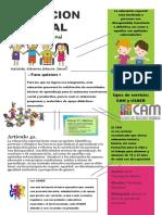 Infograma de Educacion Especial