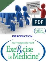 Terapi Latihan Untuk Wellness