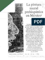 De La Fuente Beatriz - La Pintura Mural Prehispanica en Mexico
