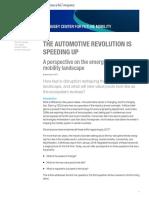 the Automotive Revolution is Speeding Up