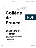 Sculpture Et Langage- Tony Cragg