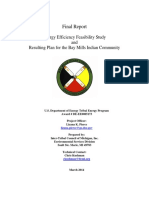 Final Report Bay Mills Indian Community Energy Efficiency Feasibility Study