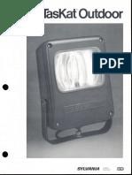 Sylvania TasKat Outdoor HID Floodlight Series Brochure 4-84