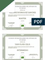 Diplomas Pyecto Inglés