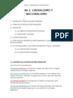 Tema 2 Liberalismo y Nacionalismo Cast